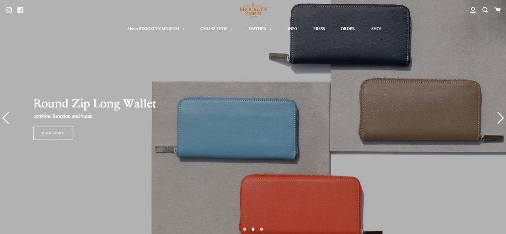 Shopify事例「ブルックリンミュージアム」
