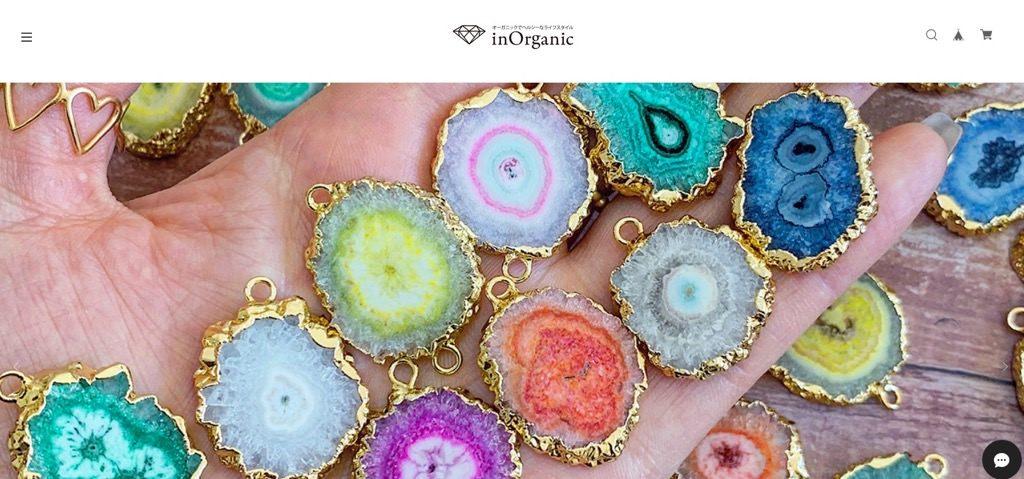 BASE事例「inOrganic bijoux」