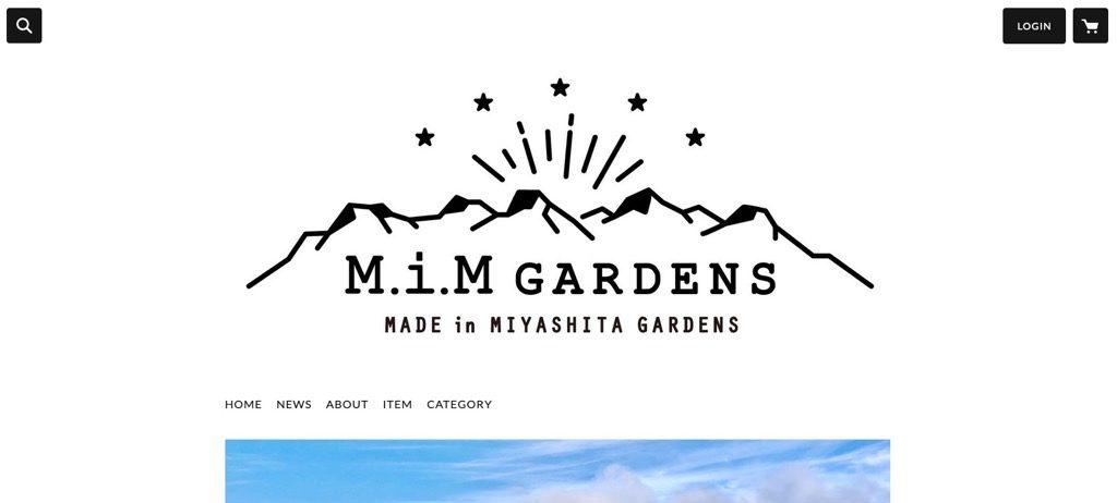 STORES.jpの事例「M.i.M GARDENS」