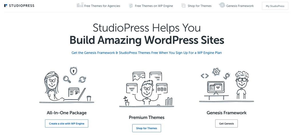 StudioPress(Genesis Framework)